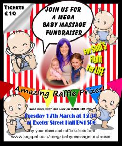 Mega Baby Massage Fundraiser