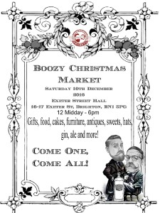 Boozy Christmas Market