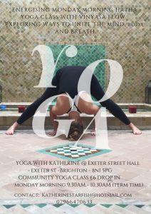 Community Yoga £6 Class