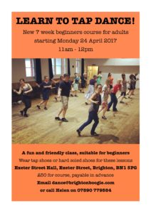 Brighton Boogie - Learn To Tap Dance