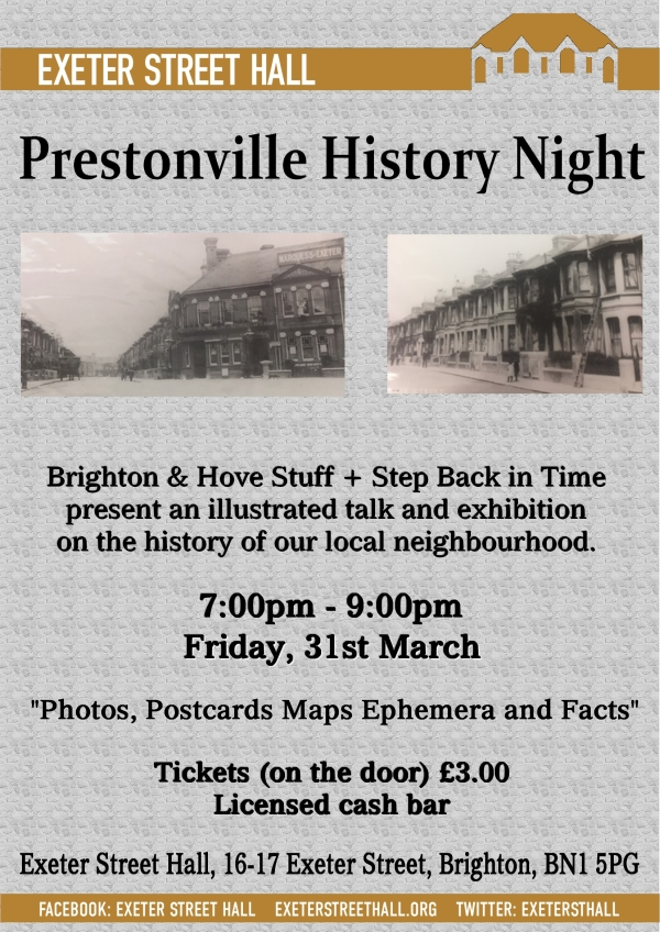 Prestonville History Night