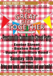 Prestonville Street Party - The Great Get Together