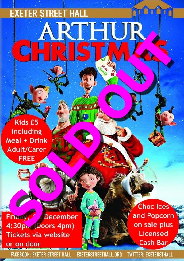 Film Friday: Arthur Christmas – Exeter Street Hall