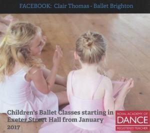 Ballet Class – Tuesdays