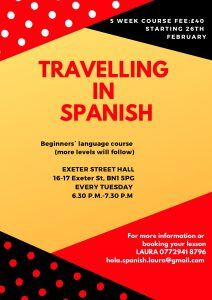 Travelling in Spanish